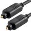 TOSLINKKABEL-optisches-Digital-Audio-Kabel-Lichtwellenleiter-1-Meter-lang Indexbild 2