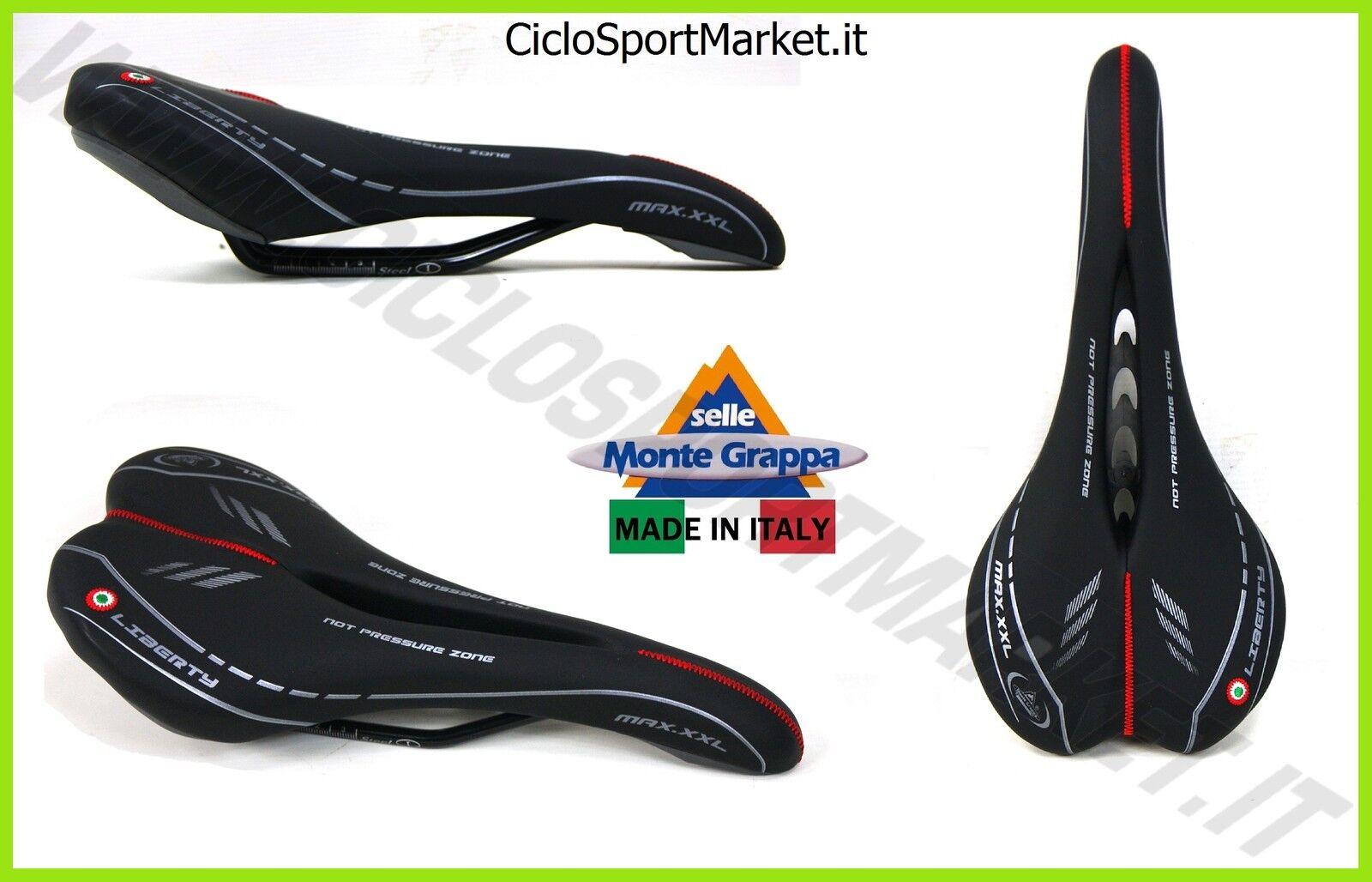 Sattel Montegrappa  liberty  mit Aussparung Fahrrad STRADA Rennen - Hybrid  | Billig