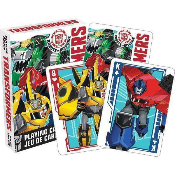 Tranformers Robots in Disguise - Official Playing Cards Aquarius