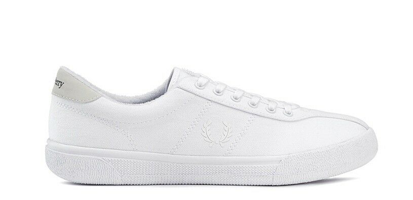FRED PERRY SFPM1830001 100 WHITE SNEAKERS