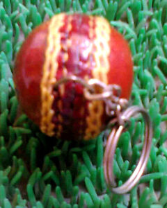 Cricket Ball KEY RING. must for any cricket lovers.