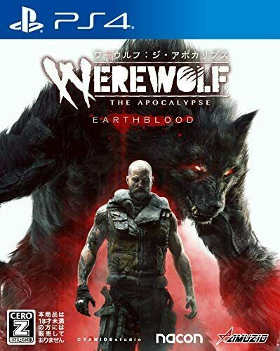 (JAPAN) PS4 video game - PS4 edition Werewolf: The Apocalypse [CERO
