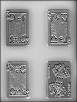 Playing Cards Chocolate Candy Mold From Ck 13478 -