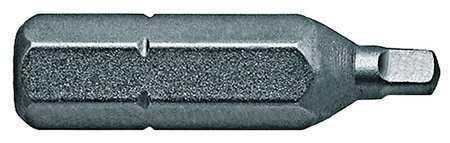 """Apex 950-1X-5Pk Torsion Bit,Sae,1//4/"""",Hex,#1,1/"""",Pk5"""