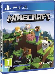 Minecraft - Bedrock Edition (PS4 PlayStation 4) (NEU & OVP) (Blitzversand)