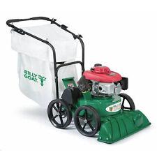"Billy Goat (27"") 187cc Honda Self Propelled Lawn/Litter Vacuum w/ 2"" Chipper"