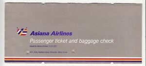 KOREA-ASIANA-AIRLINES-PASSENGER-TICKET-AND-BAGGAGE-CHECK