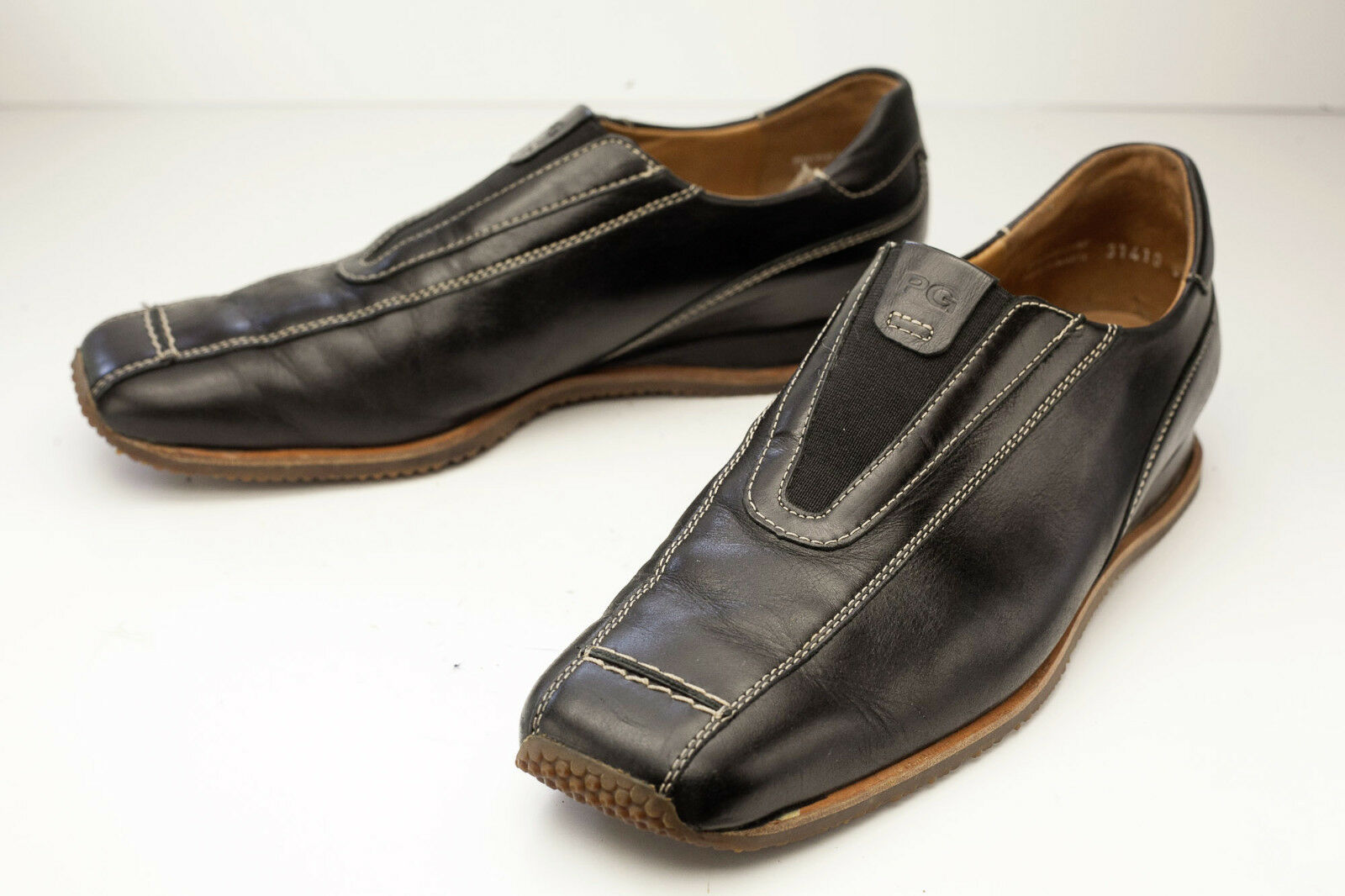 Paul Green 8 Black Slip On Women's shoes UK 5.5