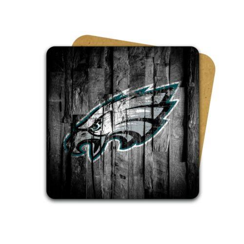 Philadelphia Eagles effet bois Tasse Et Coaster Ensemble Cadeau