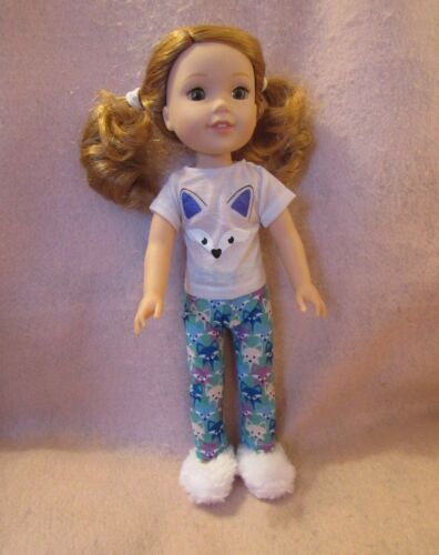 Fox PJ Set fits American Girl Wellie Wisher Doll 14.5 Inch Seller lsful