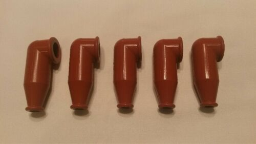 MS25171-3S Red Nipple Electrical Cable Rubber Terminal boot Lot of 5