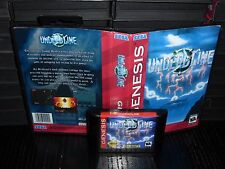 Undead Line for Sega Genesis! Cart and Box!