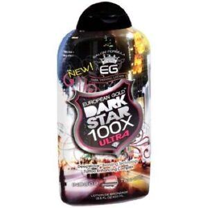 European-Gold-Dark-Star-100X-Bronzer-13-5oz-Indoor-Tanning-Lotion-NEW