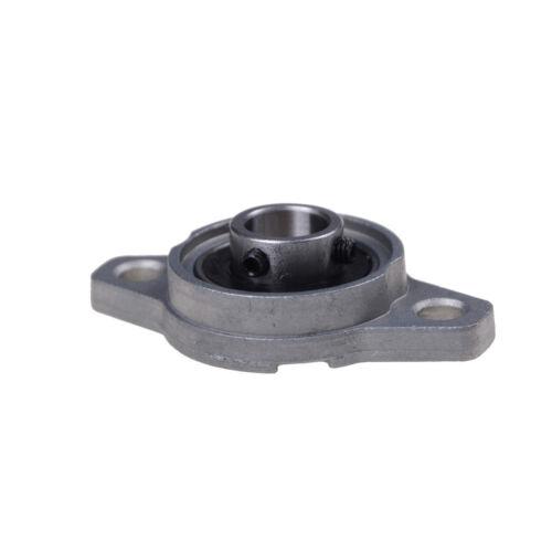 2Pcs 12mm Bore Diameter KFL001 Pillow Block Bearing Flange Rhombic Bearings PLV