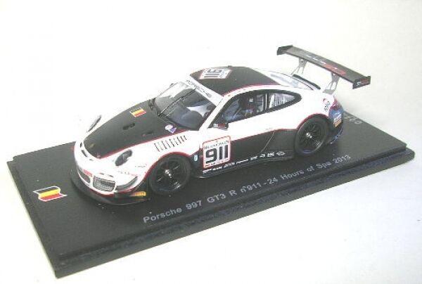 Porsche 997 gt3 r no. 911 24 hours of spa 2013