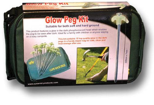 1 Nuova Luminescenza Peg / Route Marker Kit In Storage Bag [ 20194 ] Distintivo Per Le Sue Proprietà Tradizionali