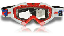 ARIETE Riding Crows Goggles Pro Top OTG Red White England Made in Italy NEW