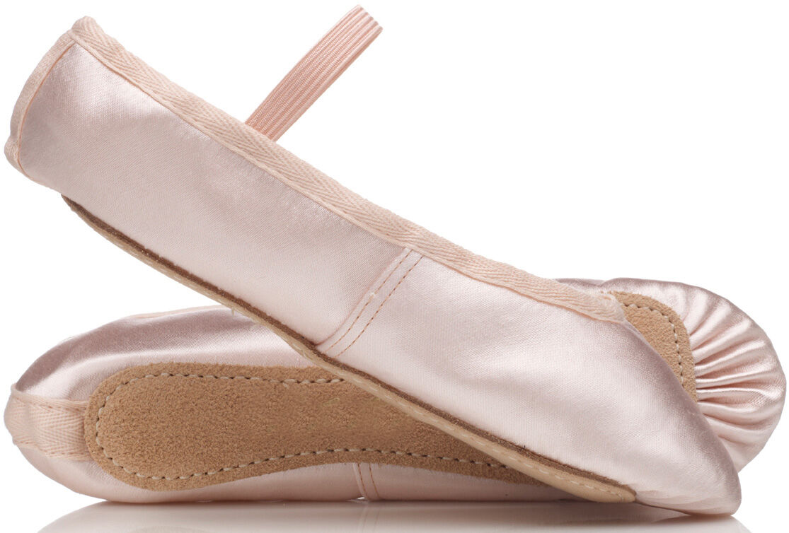 PINK Satin Bridesmaids or Ballet Shoes. Girls, Toddler, Child's & Adult's Sizes