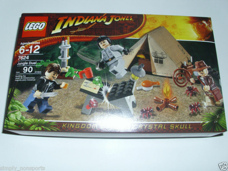 LEGO SET 7624 INDIANA JONES JUNGLE DUEL NEW SEALED SEALED SEALED f174a8