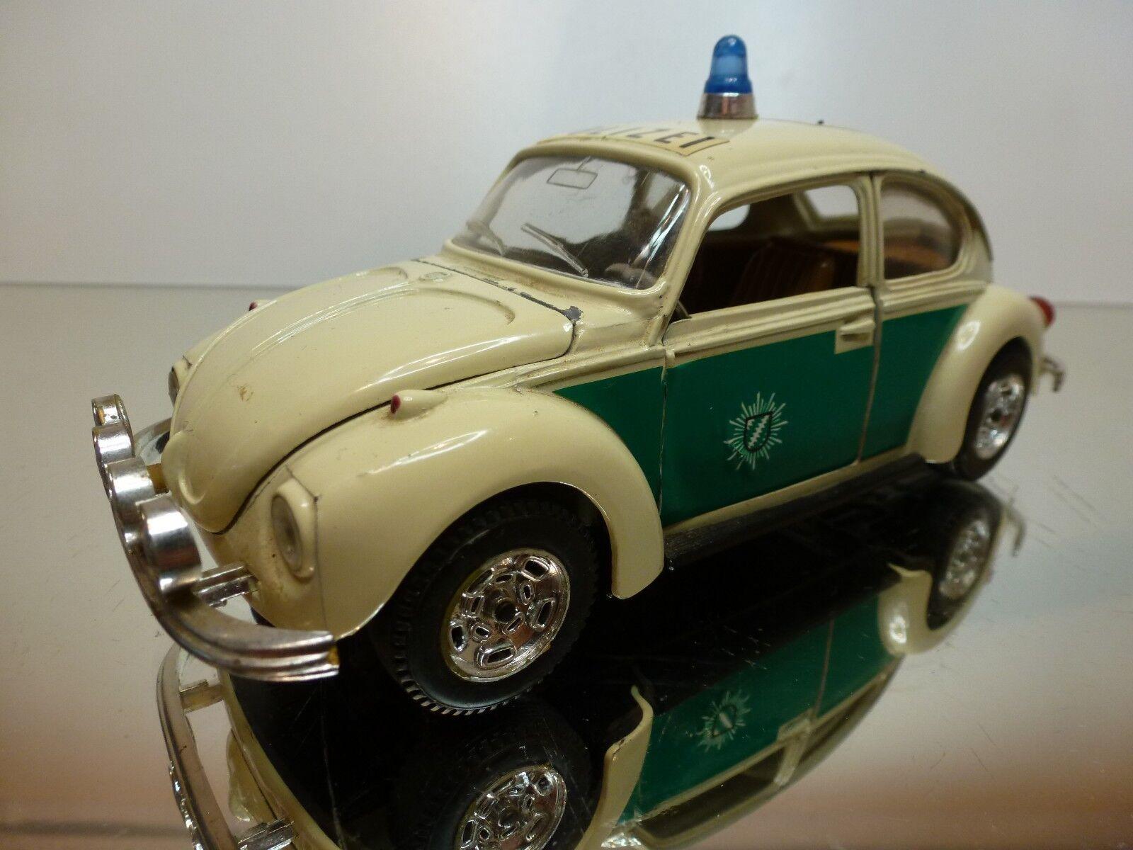 Mebetoys 8587 vw volkswagen käfer - polizei - off-Weiß 1  25 - in gutem zustand