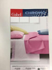 Copriletto-cotone-jacquard-Gabel-chromo-glitter-matrimoniale-tinta-unita