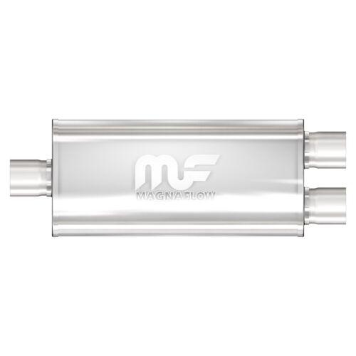 "Magnaflow 12288 High-Flow Performance Muffler 5x8x18 Oval 3/""//2.5/"" Single//Dual"