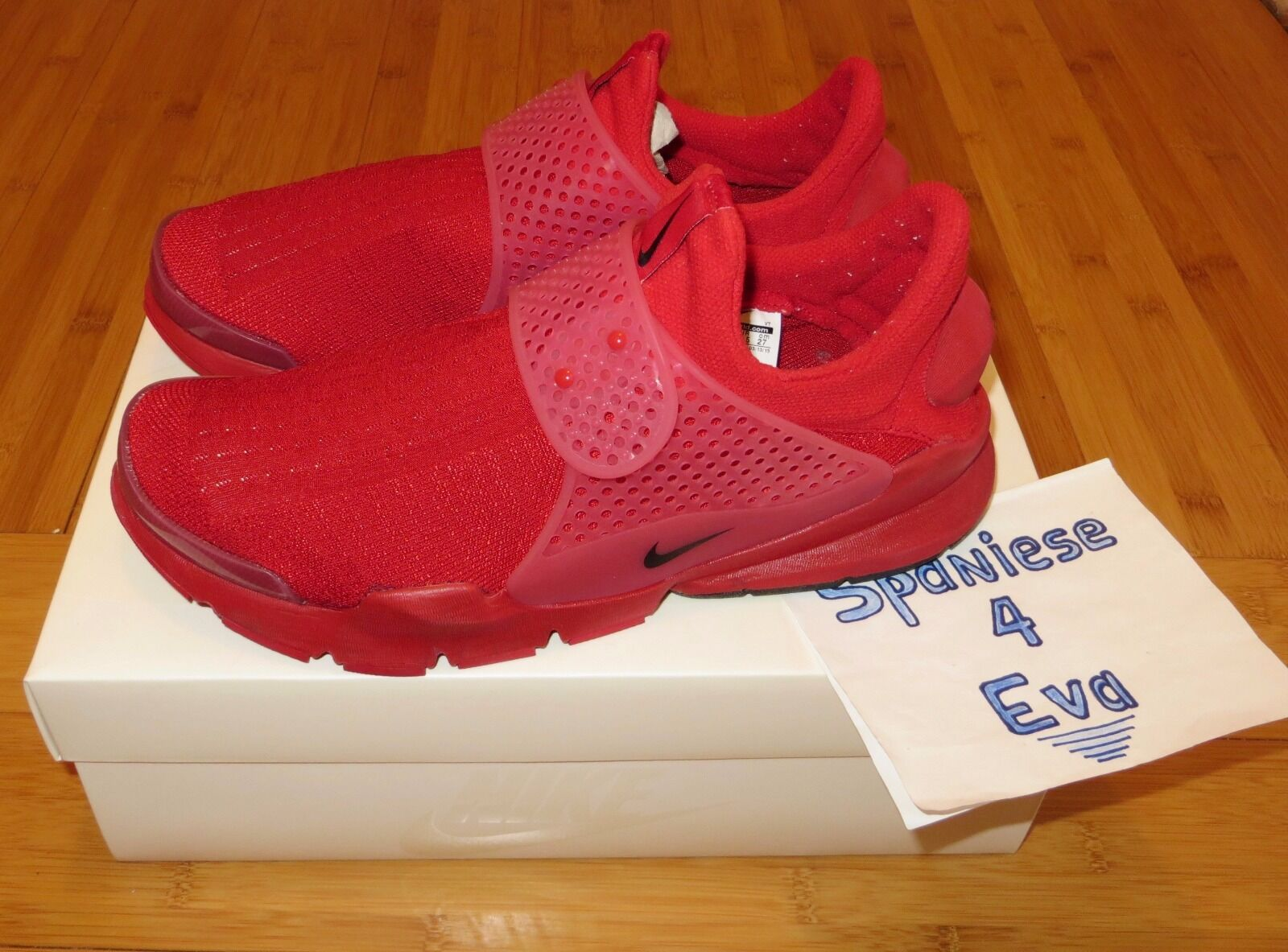 Nike sock dardo giorno dell'indipendenza red taglia 9 686058-660