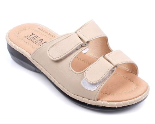 Therapy Casual Silp On Flip Flops Adjustable Clog Slippers Women Sandals Shoes