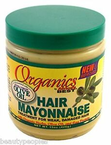 Organics-Hair-Mayonnaise-Treatment-For-Week-Damaged-hair-By-Africa-039-s-Best-426g