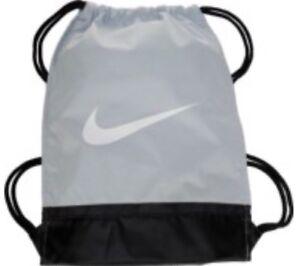3309b0da3e8f Image is loading Nike-Brasilia-Training-Gymsack-Drawstring-Backpack -Pure-Platinum-