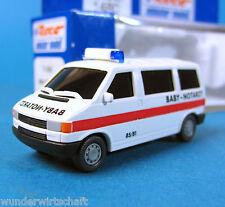 Roco H0 1480 VW T4 Baby Notarzt NAW KTW Bulli Bus OVP HO 1:87 Volkswagen
