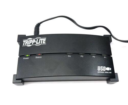 Tripp Lite BF-400 4 Port 2.0 Port USB Hub  with Power Adapter