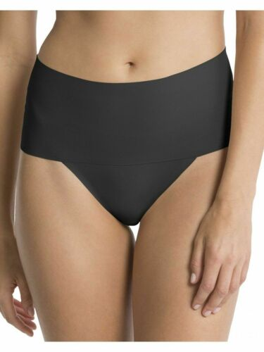 Spanx Undie-Tectable thong SP0115 small black new no tags