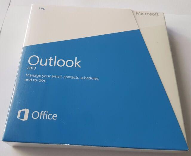 Microsoft Outlook 2013 DVD Install