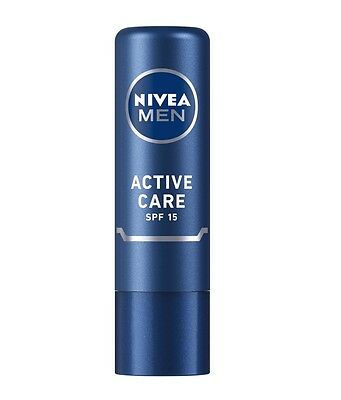Nivea Men Active Care SPF-15 Lip Care (4.8g)
