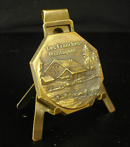 Medal-the-Franches-Montagnes-swore-in-Switzerland-Saignelegier-51-g-45-mm-Medal