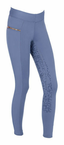Notchy riding leggings Covalliero Xara blu breeches warm lined