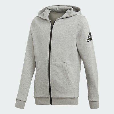 Various sizes!. Sweat top adidas boys dark grey zip up hoody Hoodie