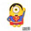 MINIONS-Schuh-Pins-Crocs-Clogs-Disney-Schuhpins-Basteln-Batman-jibbitz Indexbild 17