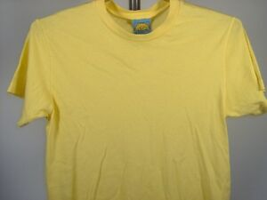 Cheyanne-amp-Claire-T-Shirt-Yellow-Small-Men-039-s-Clothing-New-NWT