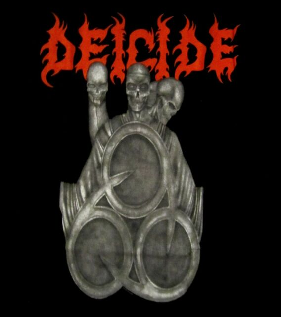 DEICIDE cd cvr IN TORMENT IN HELL Official SHIRT MED new 666