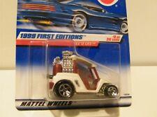 1:64 Hot Wheels 1999 First Editions Tee'D Off #9 of 26 Die Cast Golf Cart