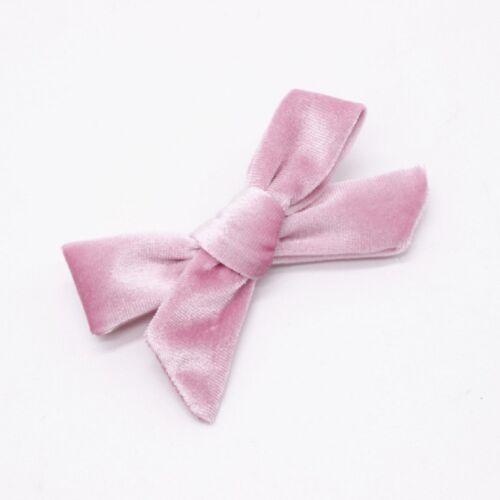 Hair Bow Girl/'s Velvet Hairpin Hair Clip Baby Bowknot Hair Barrettes Trendy