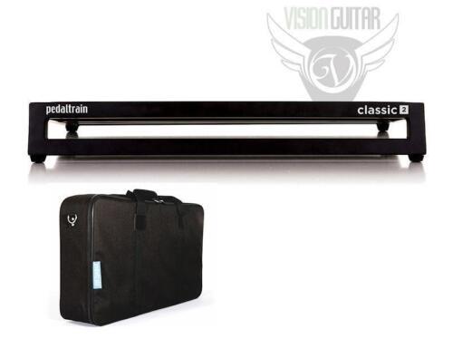 "PedalTrain PT-CL2-SC CLASSIC 2 Pedalboard With Soft Case 24/"" x 12.5/"""