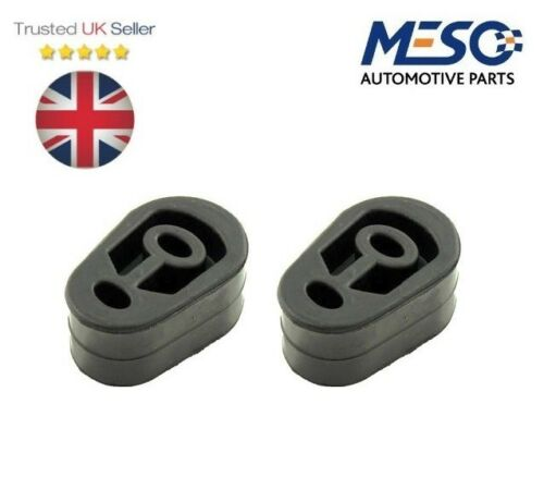 PAIR OF EXHAUST SILENCER HANGER HOLDER RUBBER MOUNTING FORD GRANADA 1985-1992