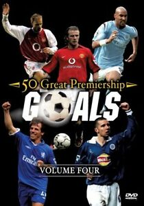 50 Great Premiership Goals  Vol 4 DVD 2005 NEW AND SEALED - <span itemprop=availableAtOrFrom>Builth Wells, Powys, United Kingdom</span> - 50 Great Premiership Goals  Vol 4 DVD 2005 NEW AND SEALED - Builth Wells, Powys, United Kingdom