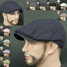 Newsboy Beret LDS Navy BLUE Cabbie Golf GATSBY Flat CAP Fashion Hat