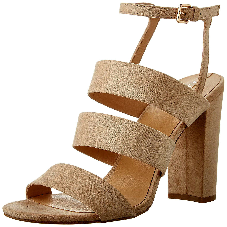 Aldo Oprah Taille 3 4 7 Nude Beige Peach Haut Talon Bottines STRAP SANDALS chaussures New