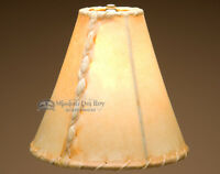 Rawhide Lamp Shades For Southwest Lamps (10 Bell)