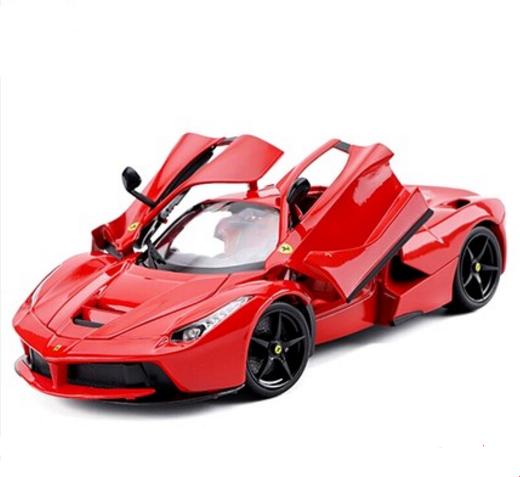 Bburago 1 18 Ferrari Laferrari Diecast Model Roadster Roadster Roadster Car New In Box Red 27f413
